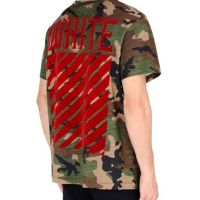 Swanky Steals: Men's Off-White Camo Short-Sleeve T-Shirt